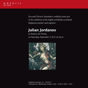 Julian Jordanov Invitation