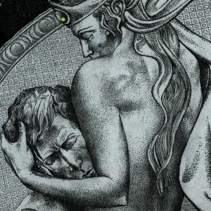 The story of a couple by Hristo Kerin. Eros (detail)